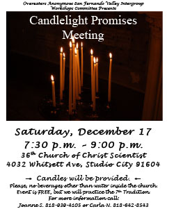 Candlelight Promises Meeting